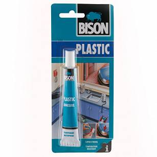 Klej do plastiku - Adhevise transparent 25ml BISON
